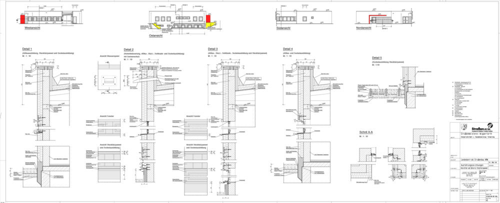 Ausf hrungs und detailplanung lang stranzenbach Fachwerktrager stahl detail